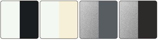 ブラインド 遮熱ツートンカラー ニチベイ カラーバリエーション