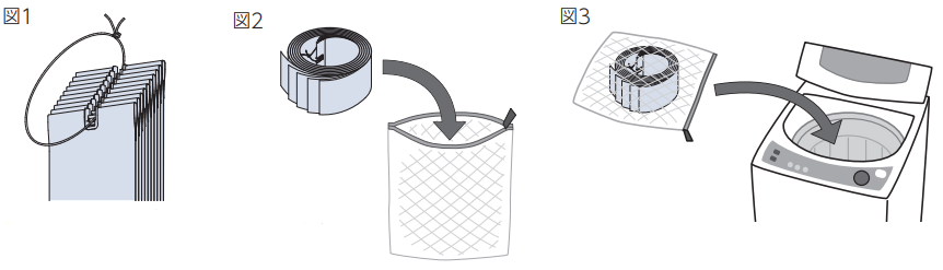 ウォッシャブル 説明 洗い方 縦型ブラインド ラインドレープ
