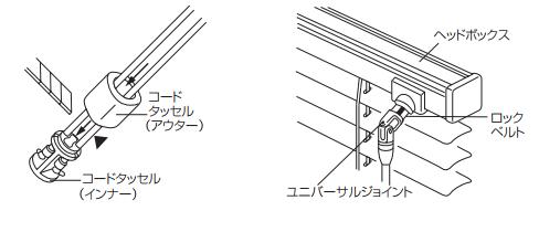 TOSO トーソー 昇降コード交換 手順 マルチポール式