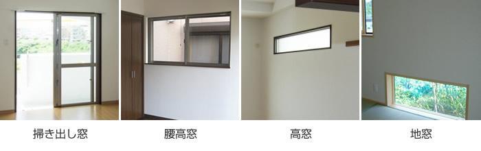 窓 形状 ウィンドウトリートメント 一般的な窓