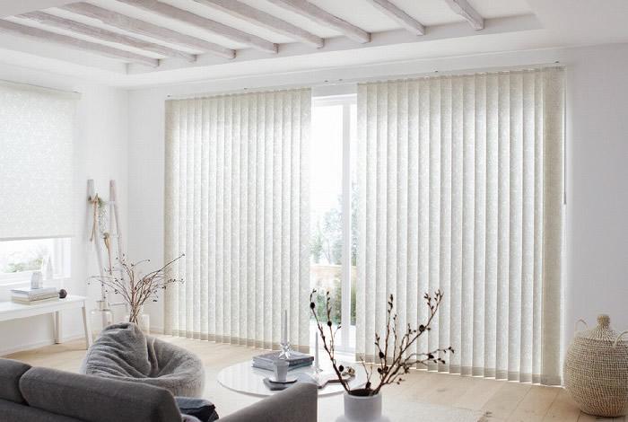 テラス窓 掃き出し窓 バーチカルブラインド 縦型ブラインド