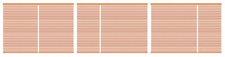 横型ブラインド セパレートタイプ 分け方