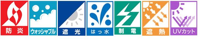 NIF 日本インテリアファブリックス協会 一般社団法人 機能性表示マーク