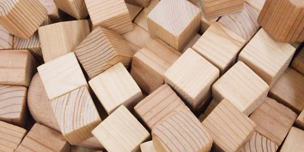 木製ブラインド 天然木 2つの種類の木材を使用