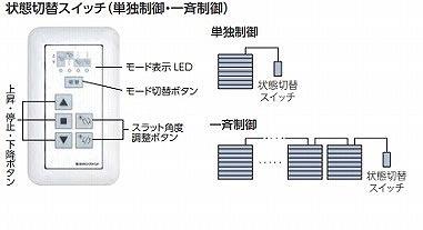 ローリーESSクワトロタコス2 制御スイッチ 状態切替スイッチ