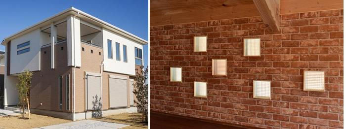 小窓 デザイン性が高い 圧迫感が減る アクセントになる