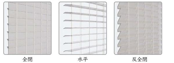 ニチベイ 木製ブラインド クレールグランツ エルフォームFR スラットの見え方