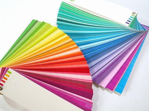 カラーチップ カラーチャート 色見本