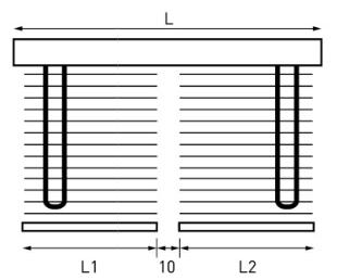 TOSO トーソー 木製ブラインド ベネウッド セパレートタイプ 個別開閉操作 個別昇降操作 製作可能寸法