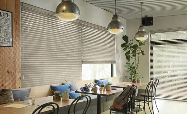 タチカワブラインド 木製ブラインド ウッドブラインド アンティーク系 グレー系 シャビー カフェ