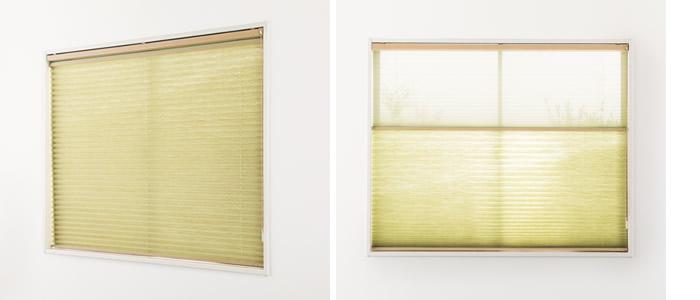 プリーツスクリーン 採寸方法 測り方 天井付 窓枠内にぴったり