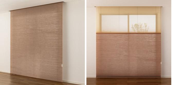 プリーツスクリーン 採寸方法 測り方 カーテンボックス内取付 窓を大きく見せる