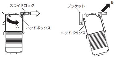 ニチベイ 木製ブラインド 取外し方法 取付け金具 スライドロック引き出す ブラインドを傾けて外す