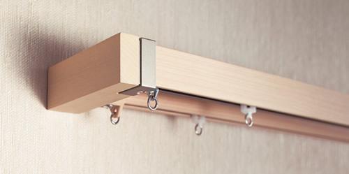 toso カーテンレールの種類 装飾レールと機能性レールの機能を両方備えたレール