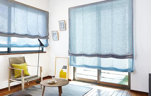 窓周り製品 ウィンドウトリートメント 特徴 ローマンシェード 様々なテイストに合う