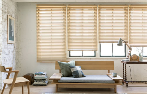 窓周り製品 ウィンドウトリートメント 特徴 木製ブラインド デザイン性が高い