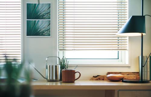 窓周り製品 ウィンドウトリートメント 特徴 アルミブラインド 機能性が高い 特殊窓に付けられる