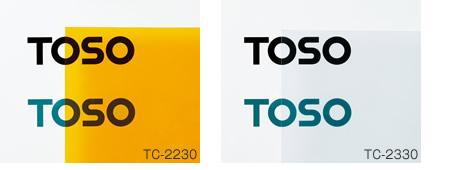 トーソー TOSO ビニールカーテン 透明タイプ TC-2230生地 TC-2130生地