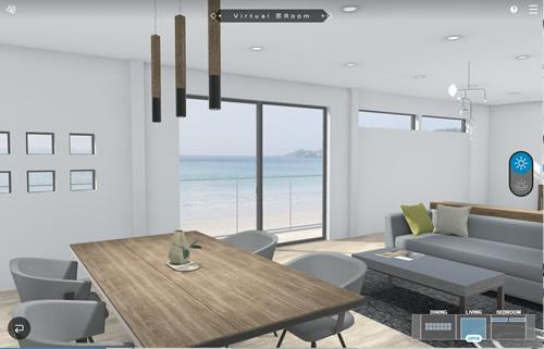 YKKap アルミ建材メーカー 窓の博物館 webコンテンツ 窓を体感する Virtual_窓_Room