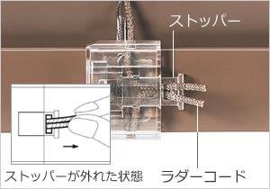 ブラインドの高さ調整の方法