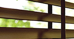 木製ブラインドのお手入れ方法