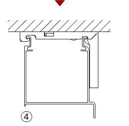 製品の取り付け後はブラケットにヘッドボックスが確実についているか確認ください